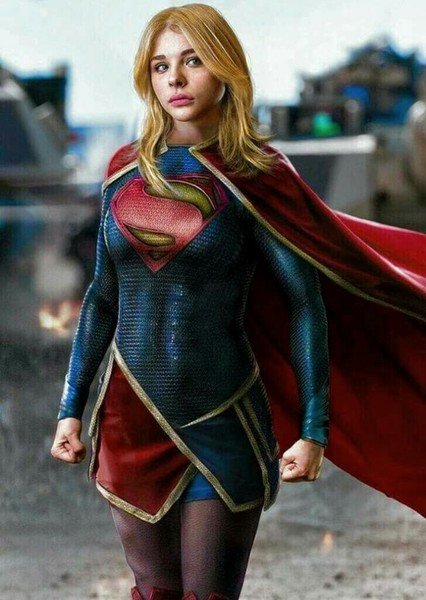 Chloë Grace Moretz as Supergirl in DC Characters