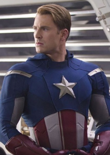 Chris Evans as Captain America in MCU