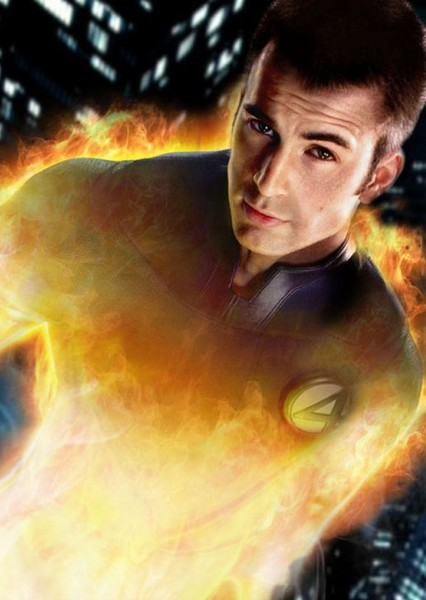 Chris Evans as 7. Human Torch in Top 10 comic book characters Chris Evans could play