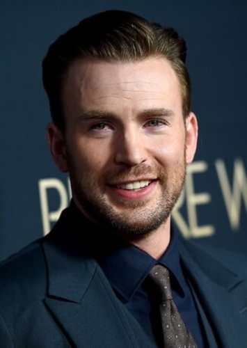 Chris Evans as Tripp in Fallen too Far (Rosemary Beach Series)
