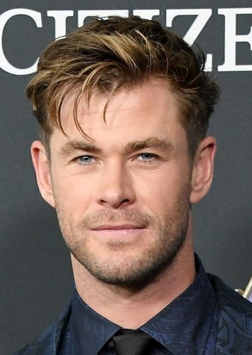 Chris Hemsworth as James Hetfield in Metallica Biopic