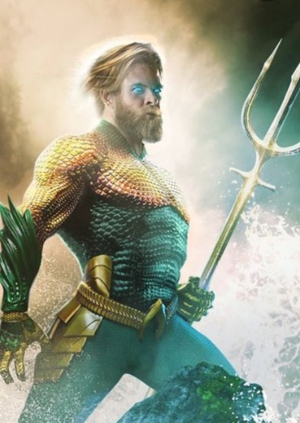 Chris Hemsworth as Arthur Curry in Comic-Accurate DCEU