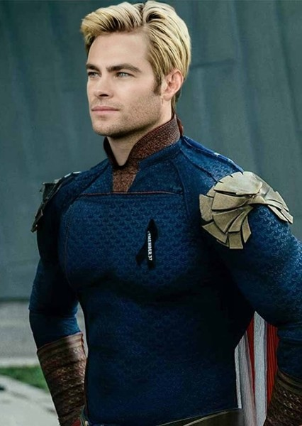 Chris Pine as Homelander in THE BOYS  [Movie - No Actors from the Show Original Actors]