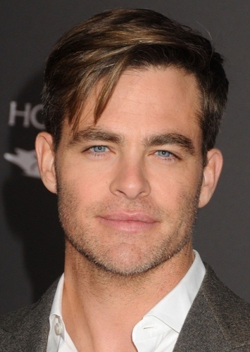 Chris Pine as Phil Davis in White Christmas