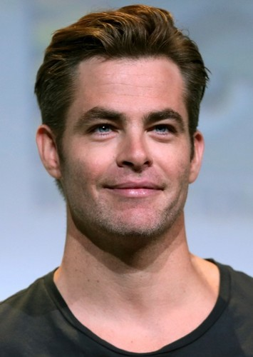 Chris Pine as John F. Kennedy in Cast the Presidents of the United States