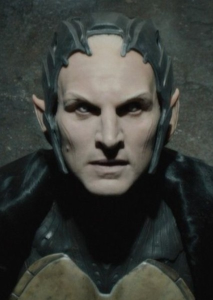 Christopher Eccleston as Malekith the Accursed in Thor : Realms of Asgard