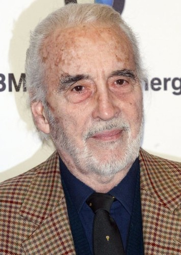 Christopher Lee as Count Dooku in Star Wars: 501st Story