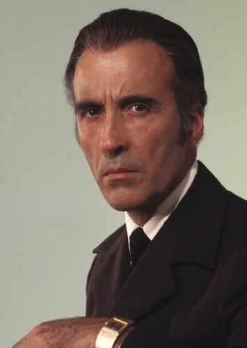 Christopher Lee as Lord Voldemort in Harry Potter (1980's)