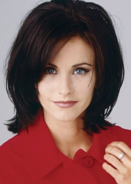 Courteney Cox as Lois Lane in 90's Superman: My Edition