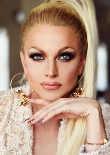 Courtney Act as Drag Queens in Face Claims