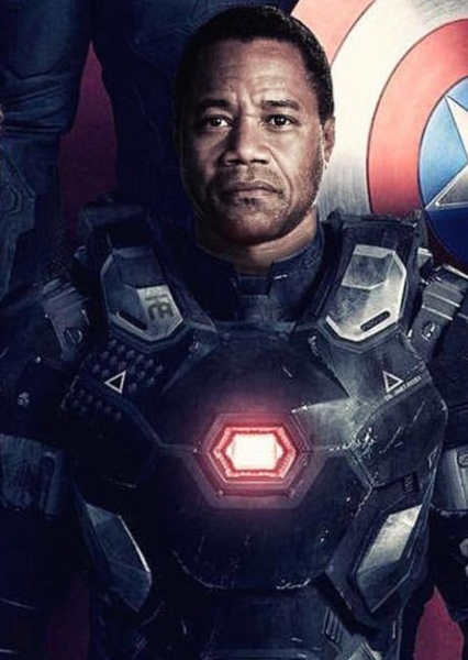Cuba Gooding Jr. as James Rhodey Rhodes in The Avengers: Earth's Mightiest Heroes