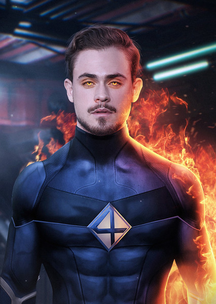 Dacre Montgomery as Human Torch in MCU Future Characters