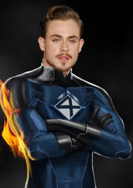 Dacre Montgomery as Human Torch in MCU