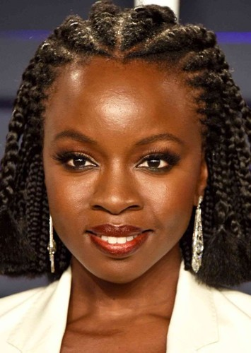 Danai Gurira as Jackie Joyner-Kersee in Run Like the Wind: The  Florence Griffith Joyner Story