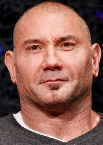 Dave Bautista as The Pain in Metal Gear Solid