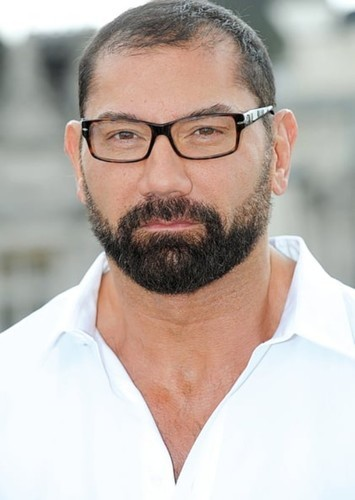 Dave Bautista as Old Iron Face in Scooby Doo and the Cyber Chase (2020 live action)