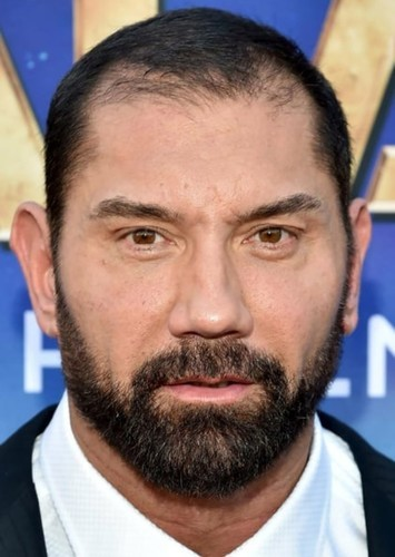 Dave Bautista as Drax in Guardians of The Galaxy Vol 3
