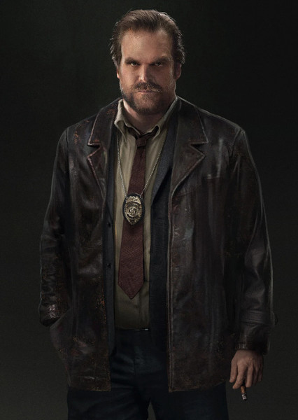 David Harbour as Harvey Bullock in Once Upon A Time In Gotham