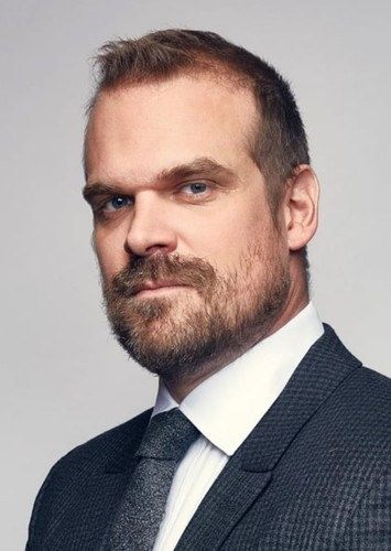 David Harbour as Gabriel in Minecraft story mode