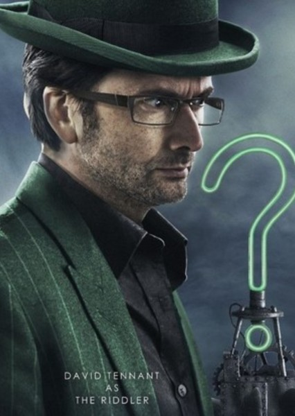 David Tennant as Riddler in Fancast Your DC Universe