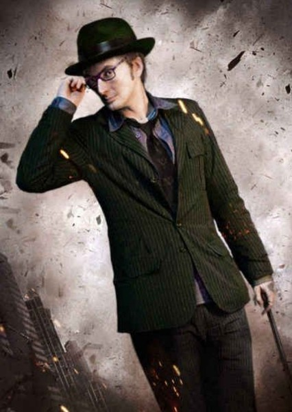 David Tennant as The Riddler in DCEU The Long Halloween (2012)