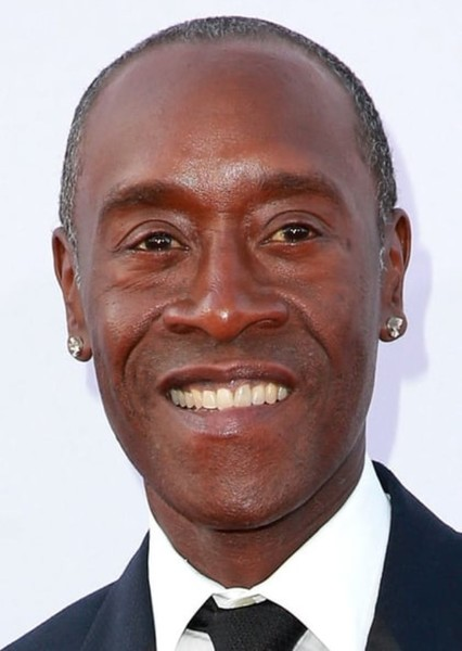 Don Cheadle as Carl Carlson in The Simpsons live action movie