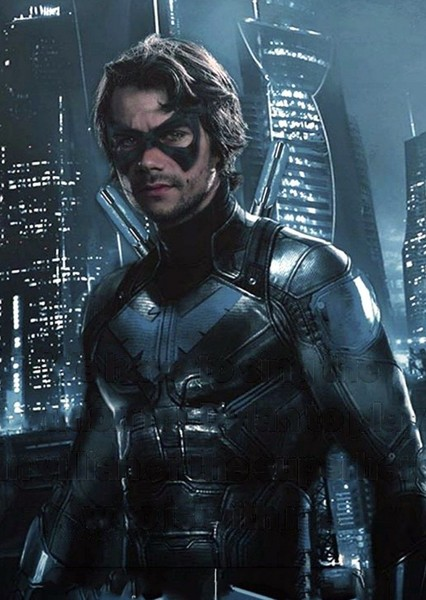 Dylan O'Brien as Robin/Nightwing in The Perfect Batman Movie