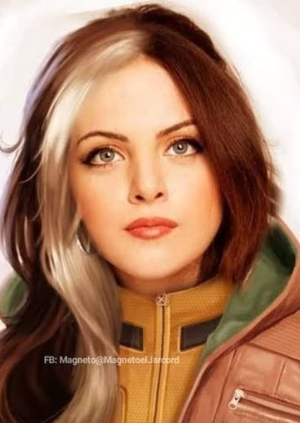 Elizabeth Gillies as Rogue in MCU Future Characters