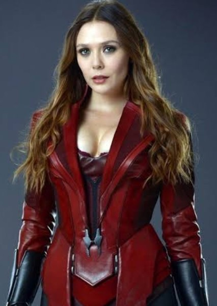 Elizabeth Olsen as Wanda Maximoff in Speed