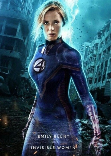Emily Blunt as Invisible Woman in Missing Marvel Characters