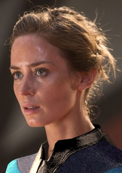 Emily Blunt as The Invisible Woman in Characters who did not appear, but should appear, in the MCU