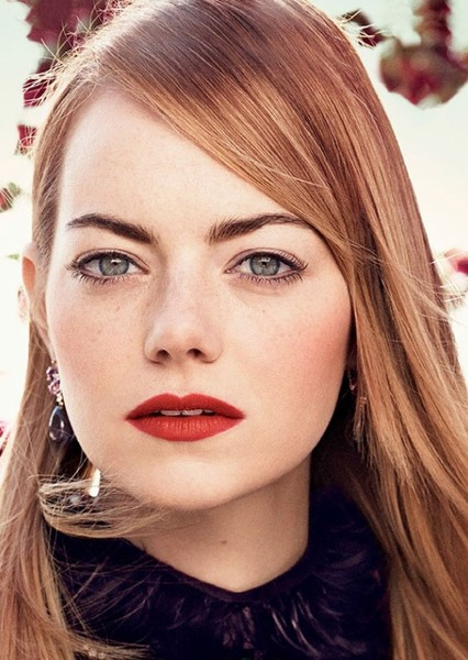 Emma Stone as Lana Lang in The Perfect Superman Movie