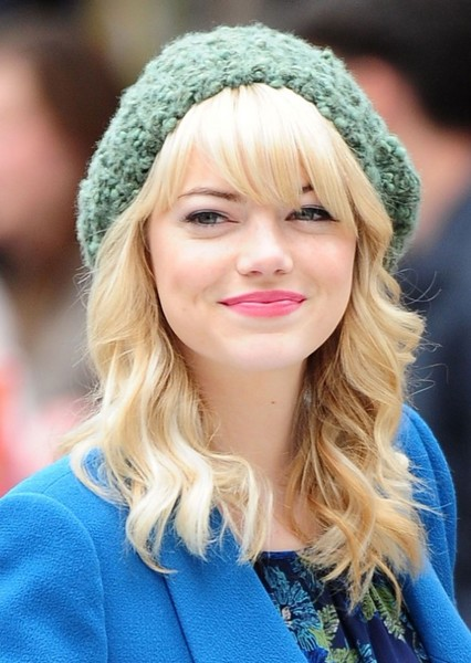 Emma Stone as Gwen Stacy in Friendly Neighborhood Spider-Man