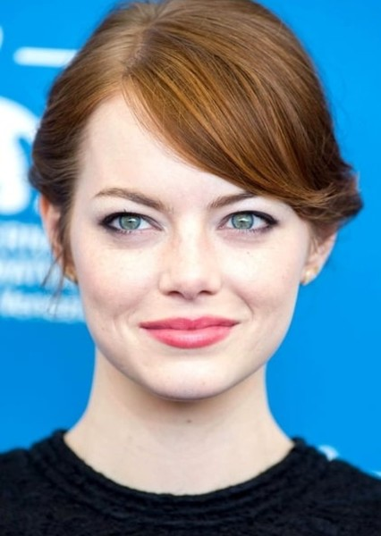 Emma Stone as Oracle in DC Characters