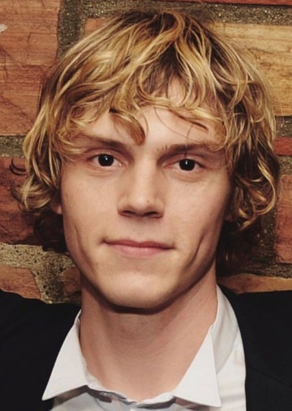 Evan Peters as Kurt Cobain in Celebrity Biopics