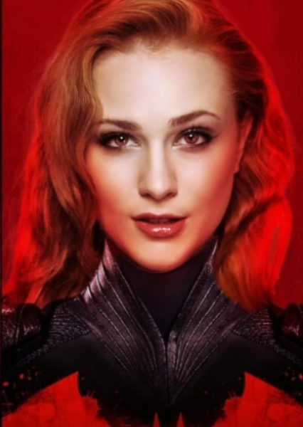 Evan Rachel Wood as Batwoman in Batman : The New Journey
