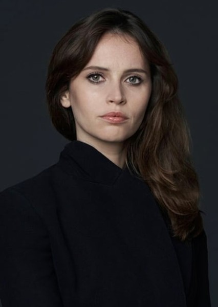 Felicity Jones as Felicia Hardy in The Amazing Spider-Man 3