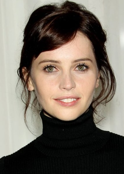 Felicity Jones as Charlotte Branwell in The Infernal Devices Trilogy