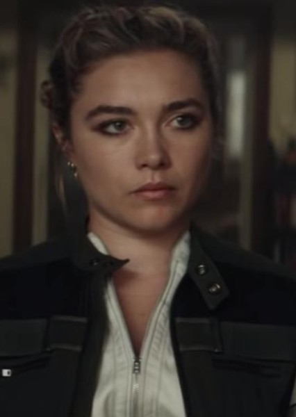Florence Pugh as Yelena Belova/Crimson Widow in The Thunderbolts