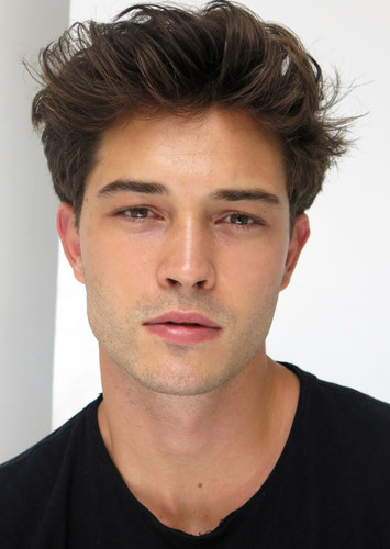 francisco lachowski as Will Herondale in The Infernal Devices Trilogy