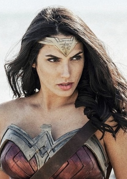 Gal Gadot as Wonder Woman in Justice League vs Suicide Squad