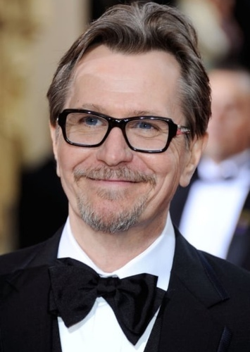 Gary Oldman as De Lacey in Frankenstein