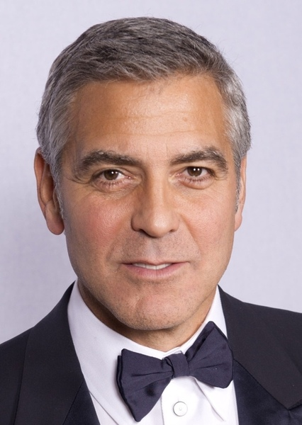 George Clooney as Admirral hacket in Mass Effect 2: Suicide Mission /Fan Cast
