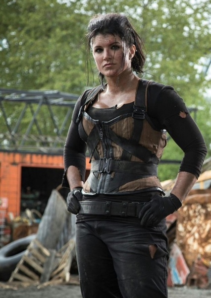 Gina Carano as Ellen Yindel in The Dark Knight Returns Live Action Movie