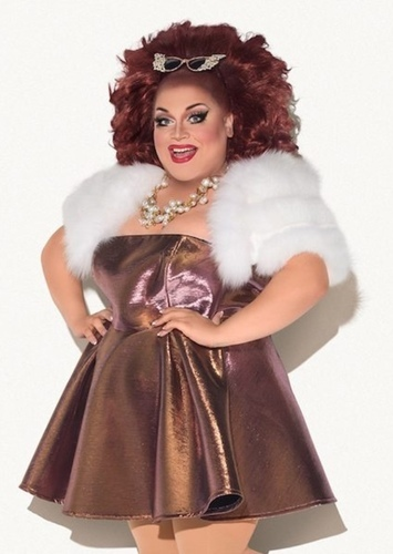 Ginger Minj as Ursula in The Little Mermaid