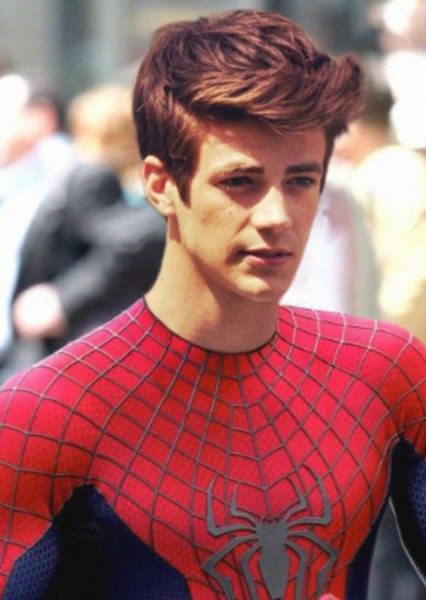 Grant Gustin as Peter Parker in Spider-Man: Into the Spider-Verse (2018)
