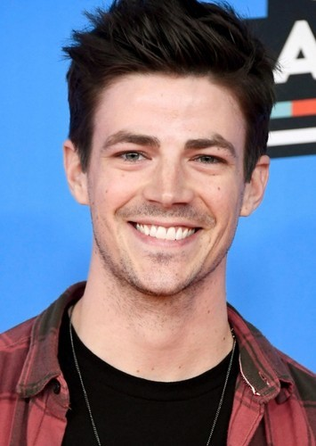 Grant Gustin as Flash II in The Flash Family and His Rouge Gallary