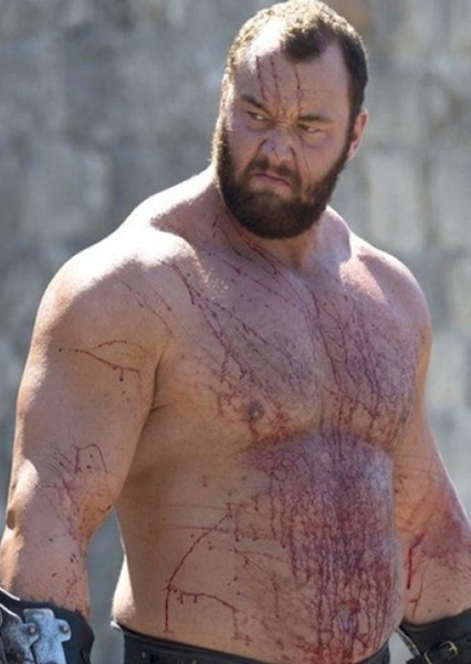 Hafþór Júlíus Björnsson as Piggsy in Manhunt Movie