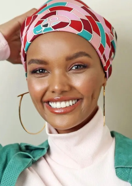 Halima Aden as Shirin in A Very Large Expanse of Sea
