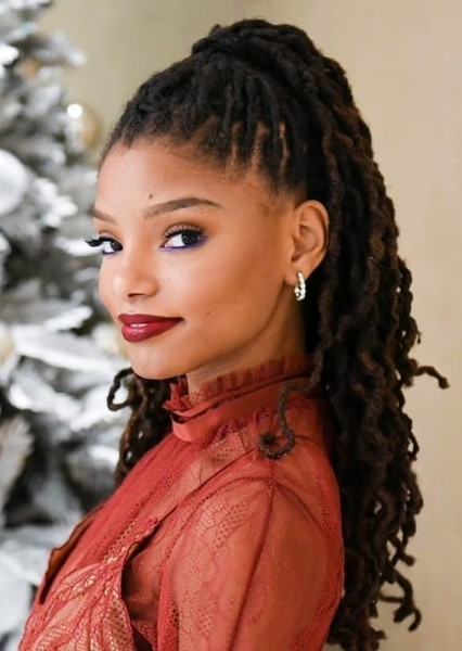 Halle Bailey as Ariel in The Little Mermaid (Live Action African American Version)